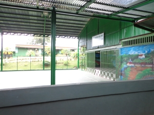 July 2013: The school gym. (Alajuela, Costa Rica)
