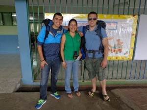 July 2013: Yendry, the school's English teacher provided us with a wonderful tour of the school. (Alajuela, Costa Rica)