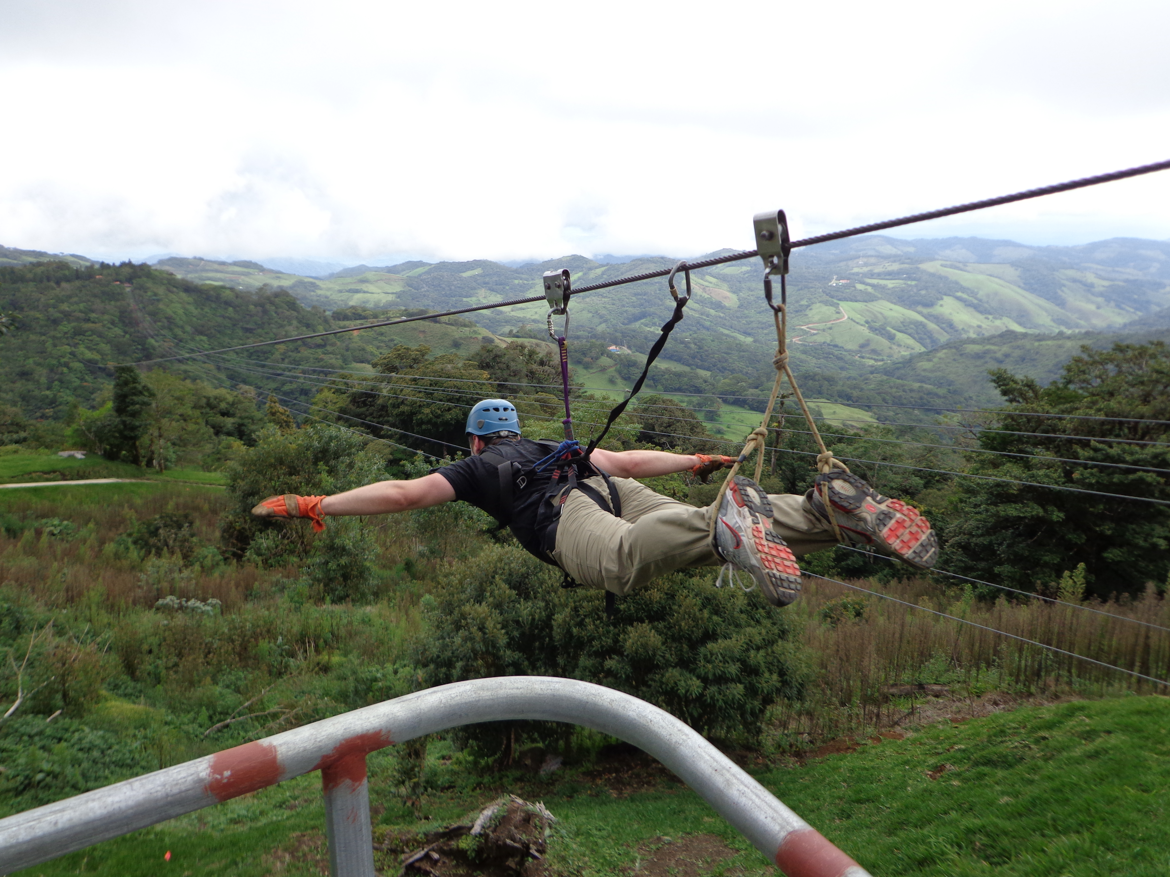 July 2013 The u0027Supermanu0027. (Monteverde Costa Rica) & Monteverde: Canopy and Wilderness Experience u2013 Planes Trains ...